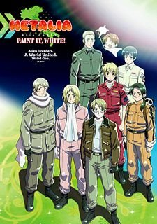 Hetalia: Axis Powers – Paint It, White!